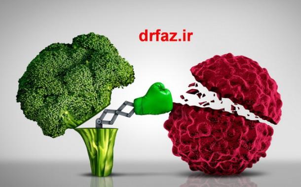 رژيم غذايی سرطان