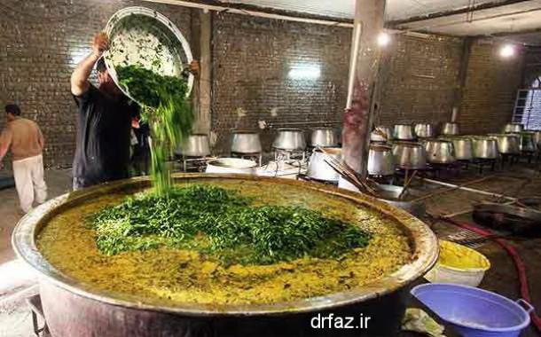 پخت غذا در طب سنتی