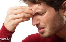 بادکش پیشانی درمان سردرد سینوزیت میگرن