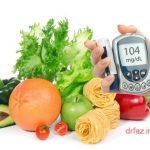 غذای دیابتی