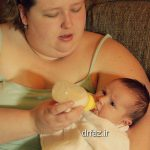 شیردهی مادران چاق
